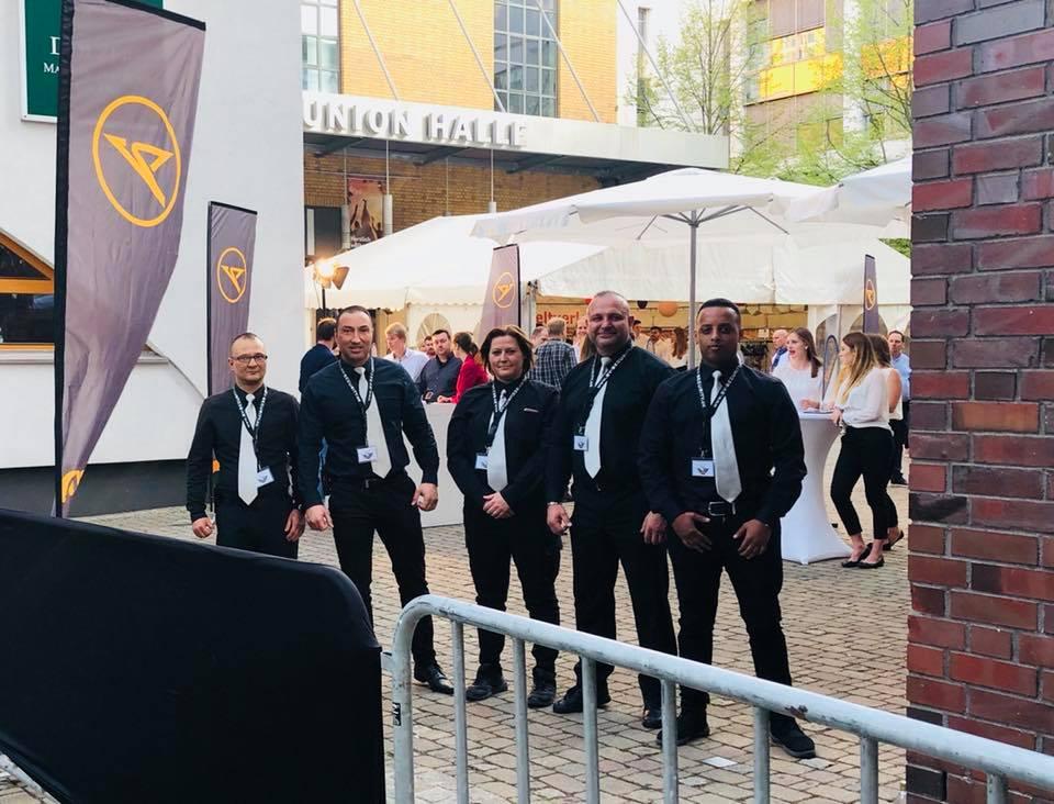 Condor - Personalveranstaltung - Veranstaltungsschutz durch SV Security