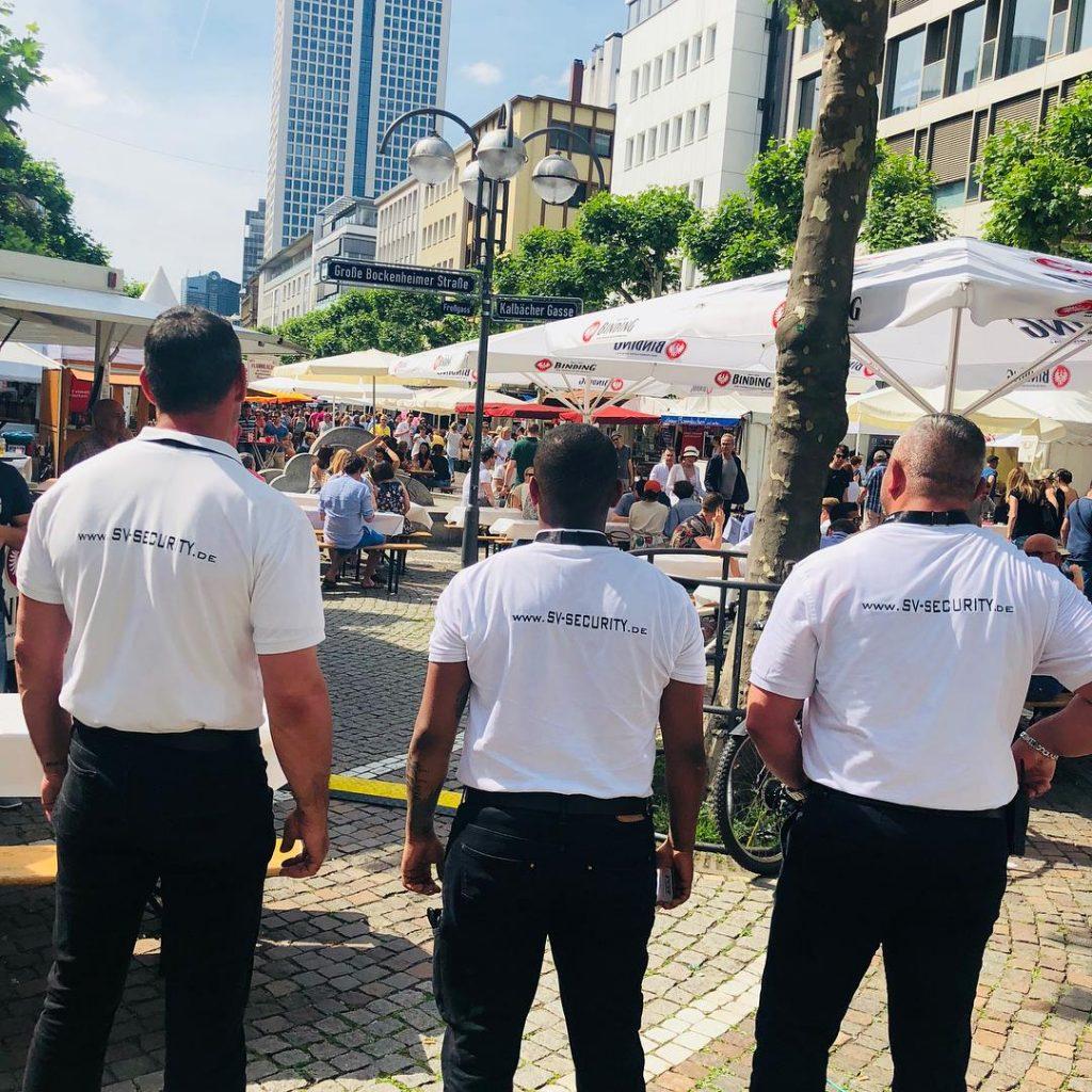Veranstaltungsschutz des Fressgass Festes 2018