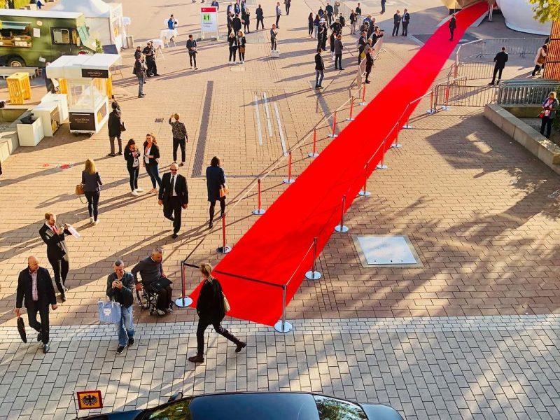 Buchmesse Frankfurt Sicherheitsdienst